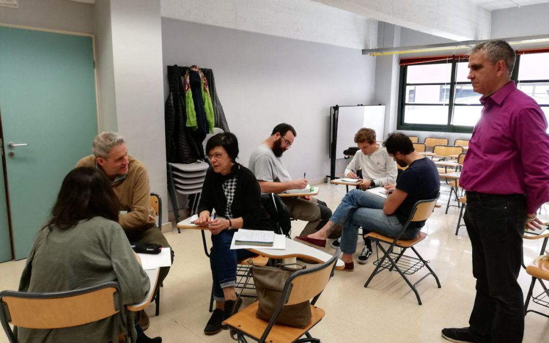 Preparando las elecciones municipales en el País Vasco
